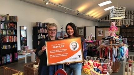 De Kringwinkel schenkt 8.000 euro aan Kinderarmoedefonds