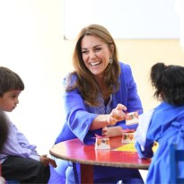 Kate Middleton verrast met traditioneel gewaad
