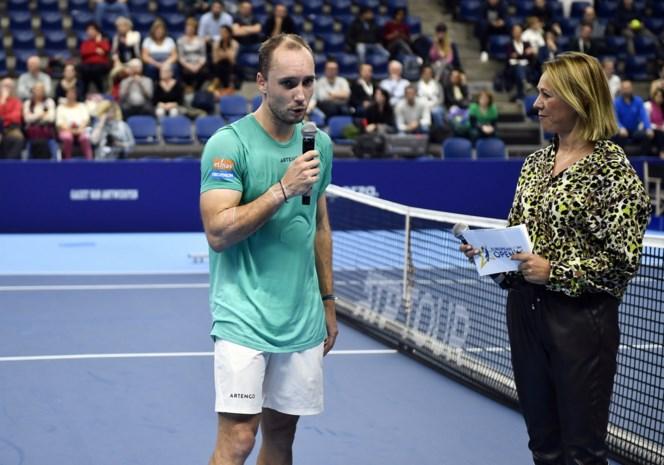 """Steve Darcis verliest laatste match op Belgische bodem: """"Teleurgesteld om op deze manier te eindigen"""""""