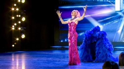 Dove dragqueen uit Antwerpen maakt furore in 'Belgium's Got Talent'