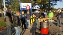 Arbeiders Kingspan Insulation weigeren aan het werk te gaan