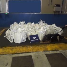 364 kilogram cocaïne voor Antwerpen gevonden tussen koffiebonen
