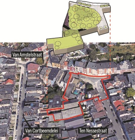 Meer ruimte voor groen en spelen in Deurne-Noord: stad keurt definitief ontwerp 'groene sproet' goed