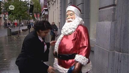 Kerstman is al aangekomen op de Meir