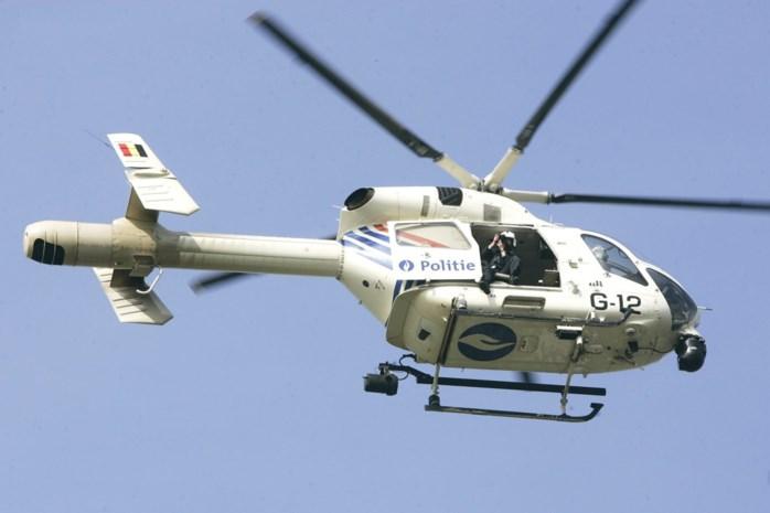 Inbreker opgepakt na zoekactie met helikopter