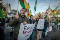 Antwerpse Koerden demonstreren derde keer op Groenplaats