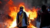 Meer dan 500.000 betogers leggen Barcelona lam