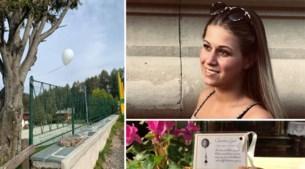 Witte ballon van verongelukte Charlotte (18) komt terecht in Italiaans 'paradijs'