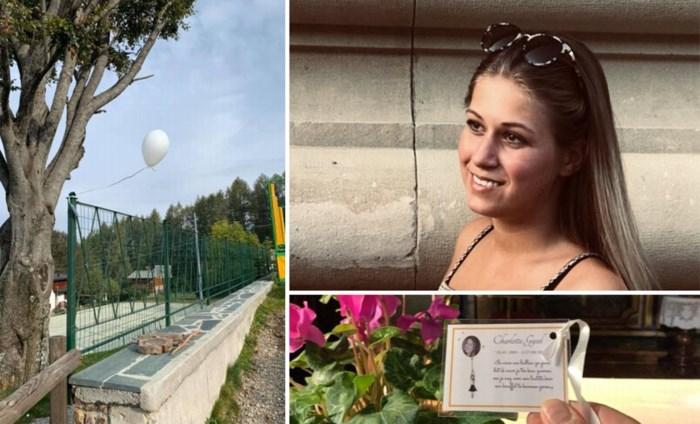 """Witte ballon van verongelukte Charlotte (18) komt terecht in Italiaans 'paradijs': """"Met dit teken wil Charlotte ons geruststellen"""""""