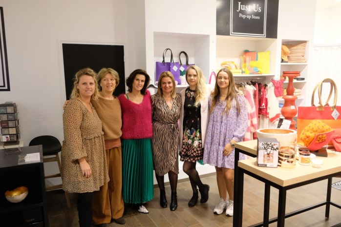 "Acht creatieve dames openen pop-up Just Us in Promenade: ""Lifestyle, fashion en decoratie"""