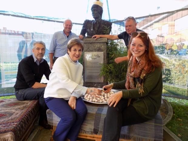 Stad eert Louis Neefs op Komet-site met eigen straat
