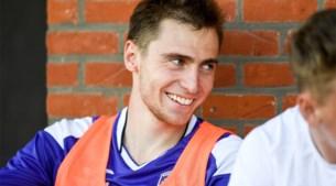 """Yan Vorogovskiy is de nieuwe chouchou van Beerschot, dweept met Hazard en verwenst Borat: """"Virton een verre verplaatsing? Grappig"""""""