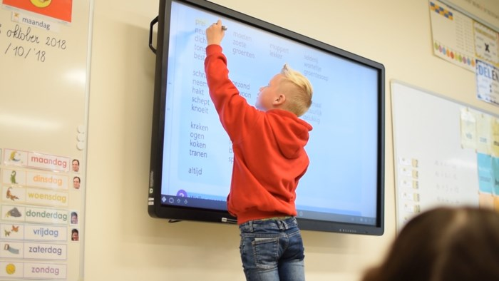 Turnhouts bedrijf rust meer dan 3.000 klaslokalen uit met digitale schoolborden