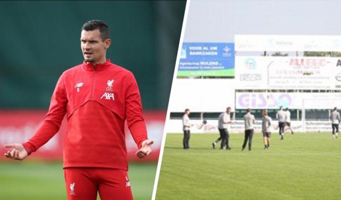 Een beetje gek: sterren van Liverpool trainen niet in stadion van Genk, maar op veld van ... een Limburgse derdeprovincialer