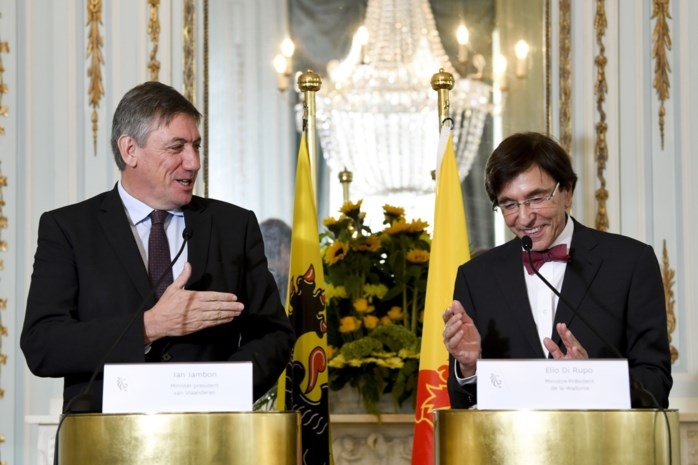 "Presidentiële ontmoeting tussen Jan Jambon en Elio Di Rupo: ""Dit past perfect in de confederale logica"""