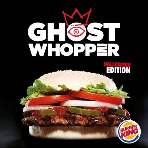 Nieuwe Burger King deelt gratis Halloweenburgers uit op 31 oktober als kind in griezelkostuum komt
