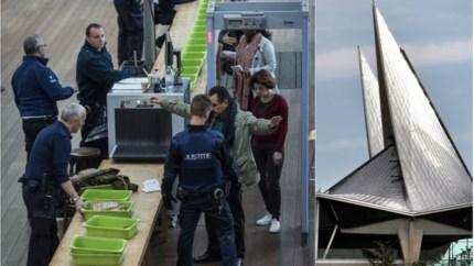 Meer dan tweeduizend messen onderschept in scanstraat Antwerps justitiepaleis sinds januari 2018