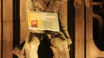 """11.11.11 knevelt vier standbeelden in Turnhout: """"Geef onze Changemakers een stem"""""""