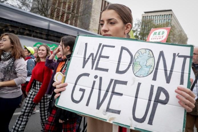 Eerste klimaatactie van het jaar lokt veel minder spijbelaars