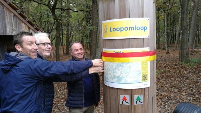 Bewegwijzerde omloop en nieuwe speelzone geopend in Prinsenpark in Retie
