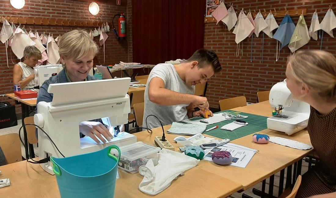 Naaimarathon Berrefonds zorgt voor warme momenten (Meerhout) - Gazet van Antwerpen