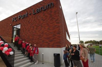 """Stad investeert 1,5 miljoen in voetbalclub Punt-Larum: """"Het gras zal hier altijd groen zijn"""""""