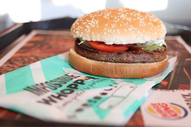 Burger King brengt ook in Europa veggieburgers op de markt