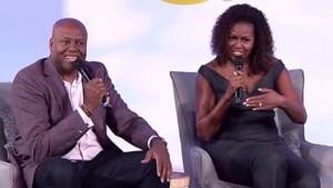 """Michelle Obama tegen haar broer: """"Je hebt het moeilijk om me first lady te noemen, he?"""""""