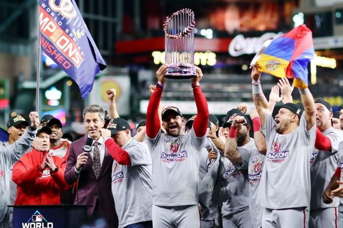 Washington Nationals verrassen met eerste titel in World Series baseball