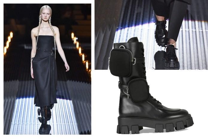 Modeliefhebbers vallen massaal voor deze boots van Prada