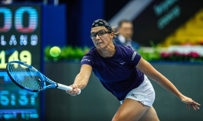 Flipkens grijpt in Moskou naast titel in dubbelfinale