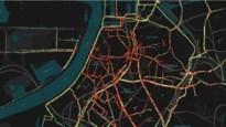 Antwerpse fietsers benutten gehele binnenstad