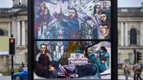 Belfast verwent fans van 'Game of Thrones' met kunstproject