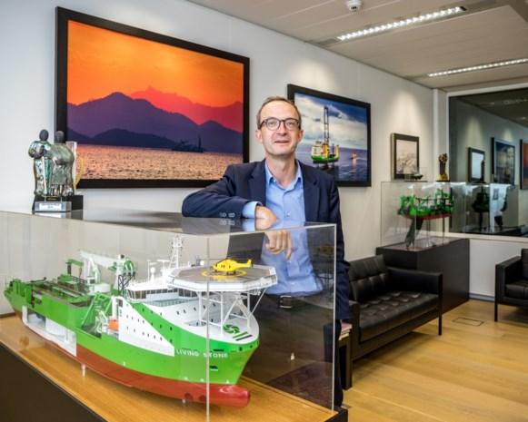 """DEME-topman Luc Vandenbulcke over de groene ambities van zijn bedrijf: """"Kijken verder dan alleen winstcijfers"""""""