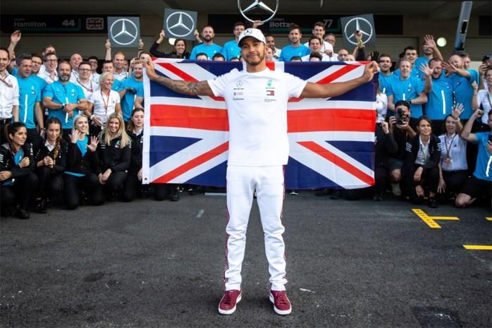 Lewis Hamilton voor de zesde keer wereldkampioen Formule 1, tweede plaats in Austin volstaat