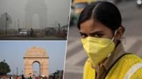 """Delhi, de """"gaskamer"""" van de wereld: geen stad met zo'n vuile lucht als Indiase hoofdstad"""