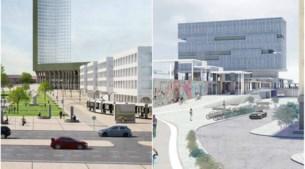 Zo kunnen de Antwerpse treinstations van de toekomst eruitzien
