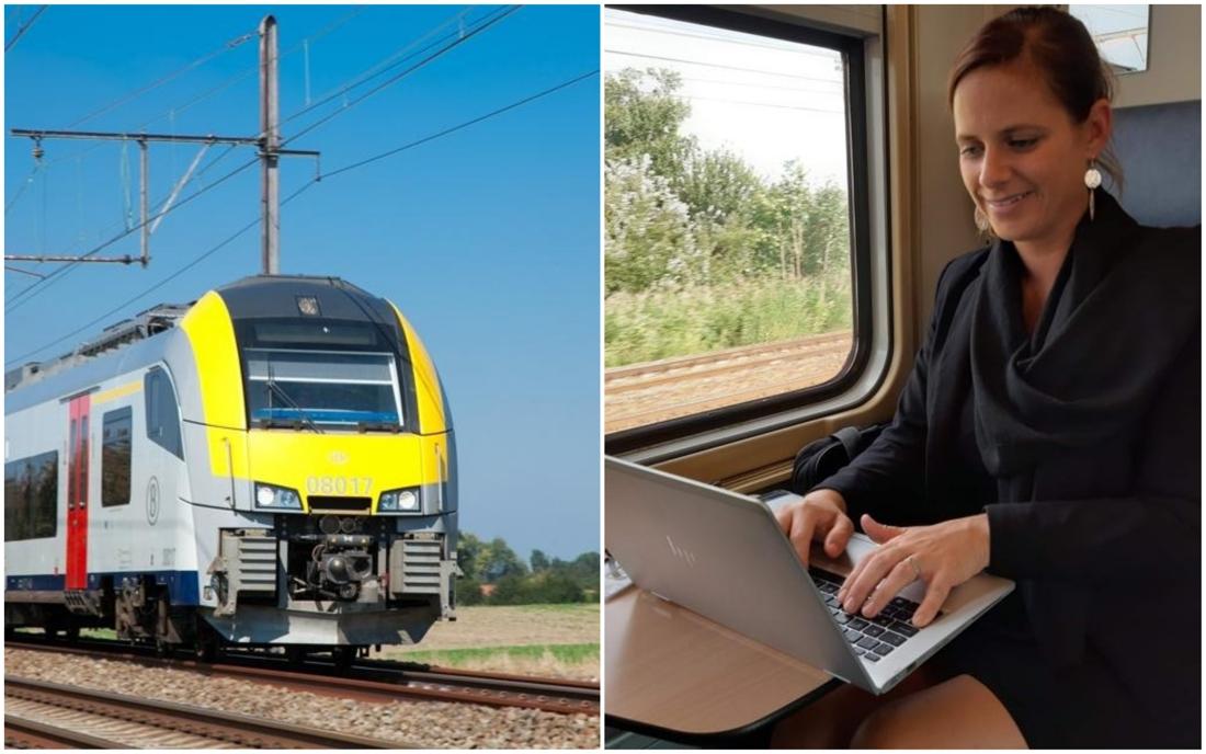 """Kempens Kamerlid (Open Vld) wil betere wifi-verbindingen in trein: """"Als je mensen uit de auto wil, moeten ze kunnen werken op de trein"""" - Gazet van Antwerpen"""