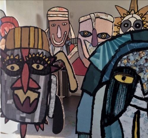 Studio Borgerstein stelt tentoon in ouderlijk huis Jan Hoet