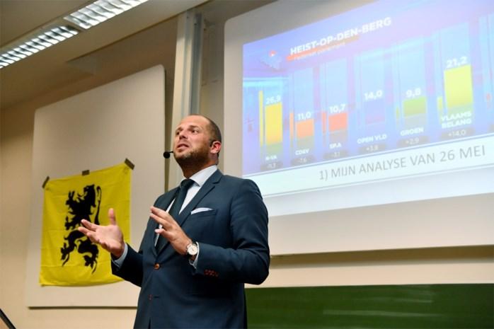 """Francken tijdens lezing aan Universiteit Antwerpen: """"Paars-groene regering is niet waar mensen voor hebben gestemd"""""""