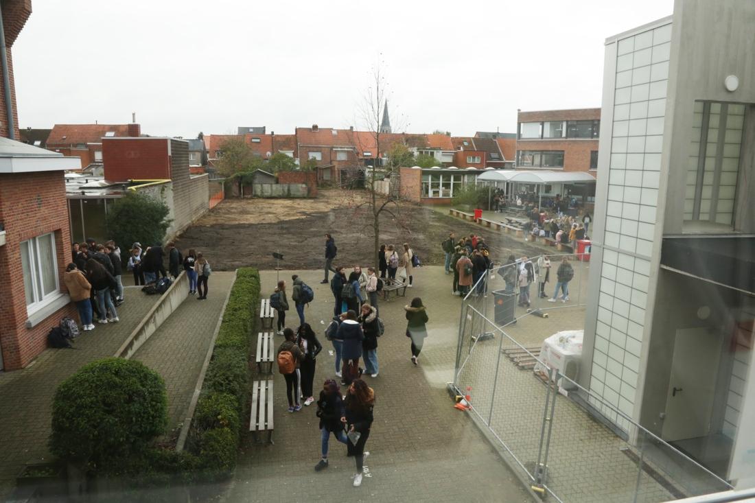 Oude industriële wasserij ruimt plaats voor klaslokalen op campus Kloosterstraat - Gazet van Antwerpen