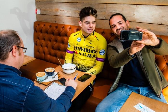 """Dag na winst Flandrien is het weer revalideren geblazen voor Wout van Aert: """"Ik heb weinig tijd om rustig te genieten"""""""