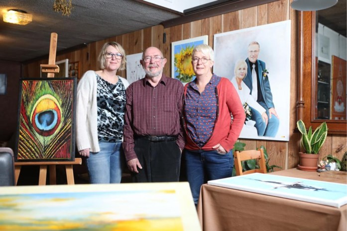 """Jarige kunstenaar Paul Goossens (80): """"Het maakt me gelukkig dat mijn dochters het zo goed doen"""""""