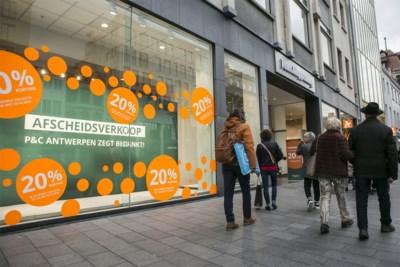 """P&C op Antwerpse Meir sluit de deuren net voor Kerstmis, Damart verhuist: """"Sector zit in een crisis"""""""