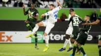 AA Gent stunt in Wolfsburg en heeft Europees overwinteren zo goed als binnen
