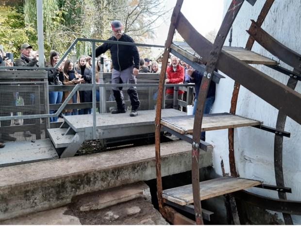 Watermolen draait weer na 40 jaar