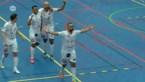 Knotsgekke partij in het Futsal