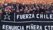 Antwerpfans betuigen steun voor protesten in Chili