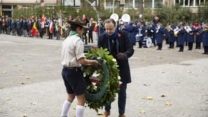 """Herdenking Wapenstilstand in Stadspark: """"Voor ons goede leven werd met zware offers betaald"""""""