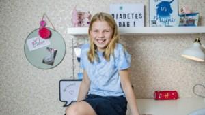 Febe (11) wil zo veel mogelijk mensen overtuigen om blauw te dragen op Wereld Diabetesdag